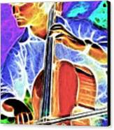 Cello Canvas Print by Stephen Younts