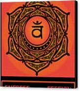 Celtic Tribal Sacral Chakra Canvas Print