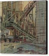 Cement Company Canvas Print by Donald Maier