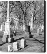 Cemetery 3 Canvas Print