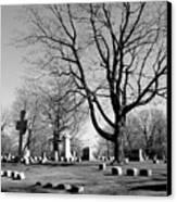 Cemetery 5 Canvas Print