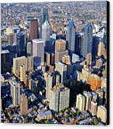Center City Philadelphia Large Format Canvas Print by Duncan Pearson