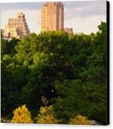 Central Park 7503 Canvas Print