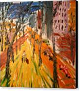 Central Park East Canvas Print
