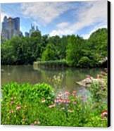 Central Park Canvas Print by Kelly Wade