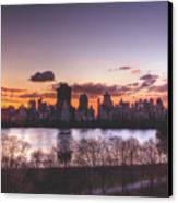 Central Park Rises Canvas Print by Ariane Moshayedi