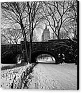 Central Park West And The San Remo Building  Canvas Print by John Farnan