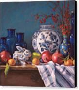 Ceramic Rabbit Canvas Print