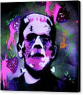 Cereal Killers - Frankenberry Canvas Print
