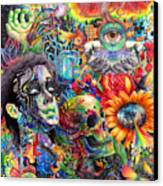 Cerebral Dysfunction Canvas Print by Callie Fink