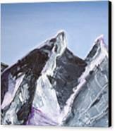 Cerro De La Silla Of Monterrey Mexico Canvas Print