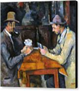 Cezanne: Card Player, C1892 Canvas Print