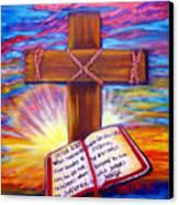 Chads Cross  Canvas Print