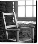 Chair By Window - Ireland Canvas Print