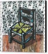 Chair Ix Canvas Print by Peter Allan