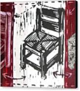 Chair V Canvas Print