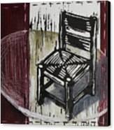 Chair Vi Canvas Print by Peter Allan