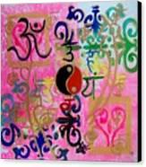 Chakra Empowerment Canvas Print