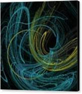 Chalk Outline Canvas Print by Mike Turner