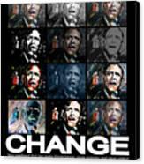 Change  - Barack Obama Canvas Print