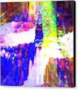 Changing Color Canvas Print by Fania Simon