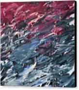 Chaos Serie, I Canvas Print