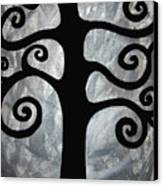 Chaos Tree Canvas Print