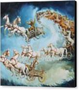 Chariots In Storm Canvas Print