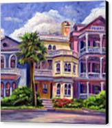 Charleston Houses Canvas Print