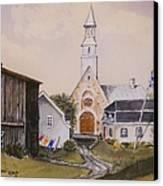 Charlevoix Quebec Canvas Print