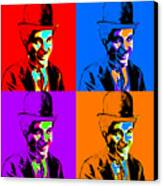 Charlie Chaplin Four 20130212 Canvas Print by Wingsdomain Art and Photography