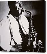 Charlie Parker Canvas Print by American School