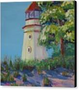 Cheboygan Lighthouse Canvas Print