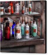 Chemistry - Ready To Experiment  Canvas Print by Mike Savad