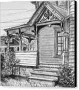 Chenango Street Binghamton Ny Canvas Print