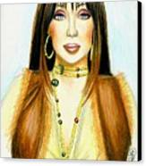 Cher Canvas Print