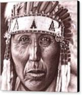 Cherokee Canvas Print