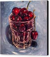Cherries Original Oil Painting Canvas Print