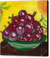 Cherry Bowl Canvas Print