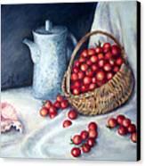 Cherry Tomatoes Canvas Print