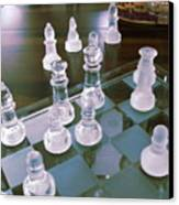 Chess Is Not For Sissies Canvas Print by Anne-Elizabeth Whiteway