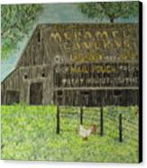 Chew Mail Pouch Barn Canvas Print