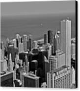 Chicago Birdview Canvas Print