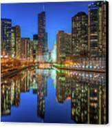 Chicago River East Canvas Print
