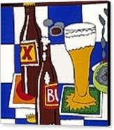 Chichis Y Cervesas Canvas Print by Rojax Art