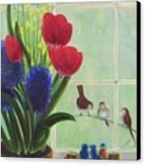 Chick Flick Canvas Print by Dana Redfern