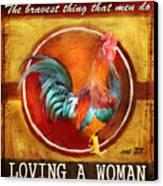 Chicken Little Canvas Print by Joel Payne