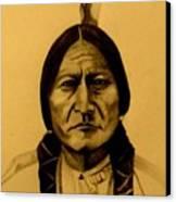 Chief Sitting Bull  Tatanka Iyotake Canvas Print
