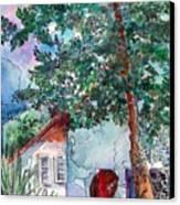 Child Of Paros Canvas Print