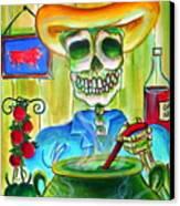 Chile Verde Canvas Print by Heather Calderon